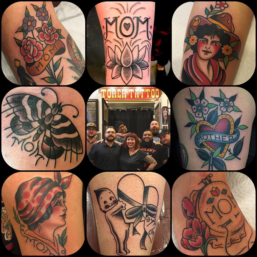 #ForMomFriday at Torch Tattoo