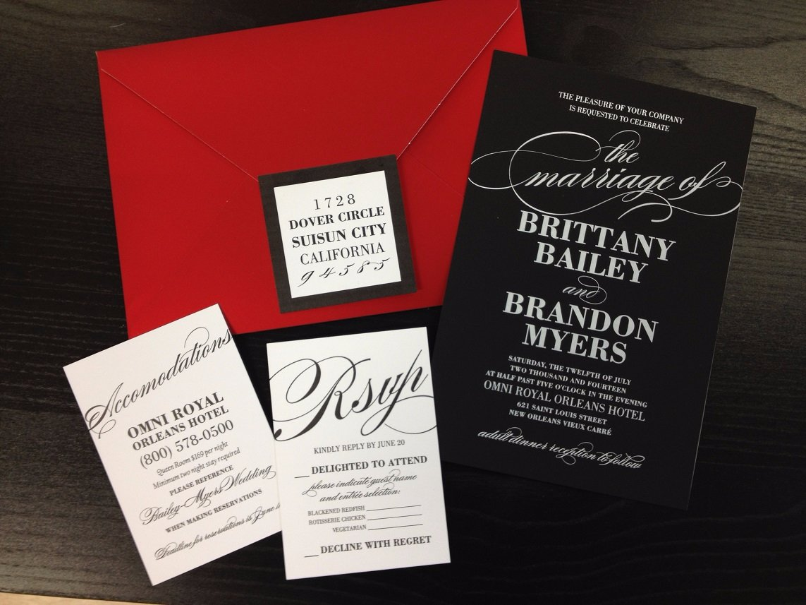 Stationery Stylist- New Orleans - Foil Stamped