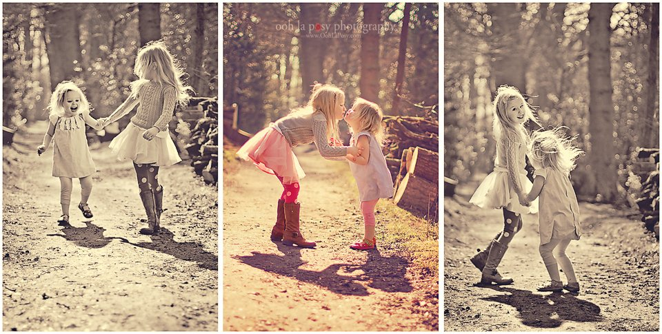 C and E frolicking - Houston Child photographer