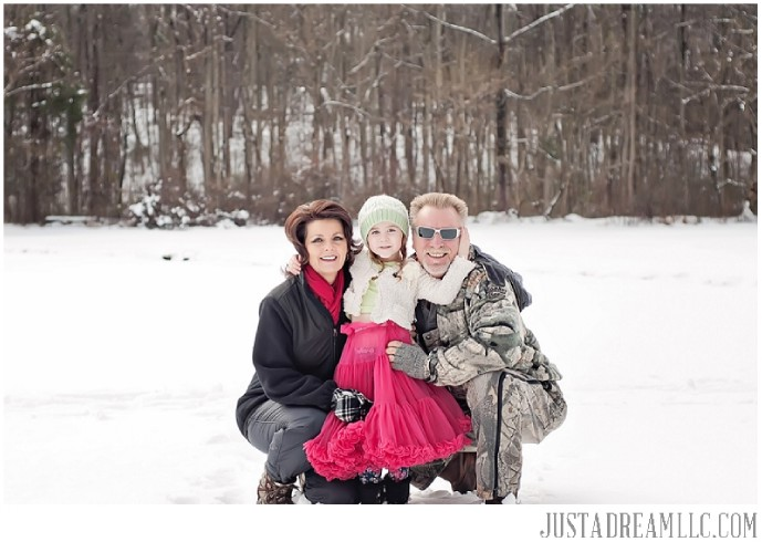 just a dream photography concord nc photographers snow day family session children photo