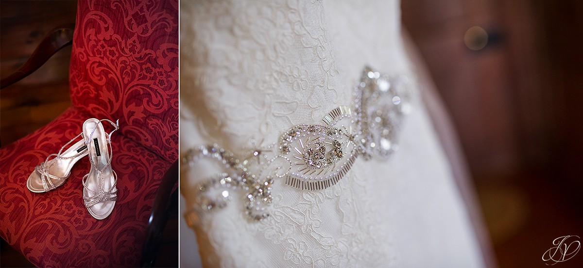 details of bridal gown from tlc bridal botique