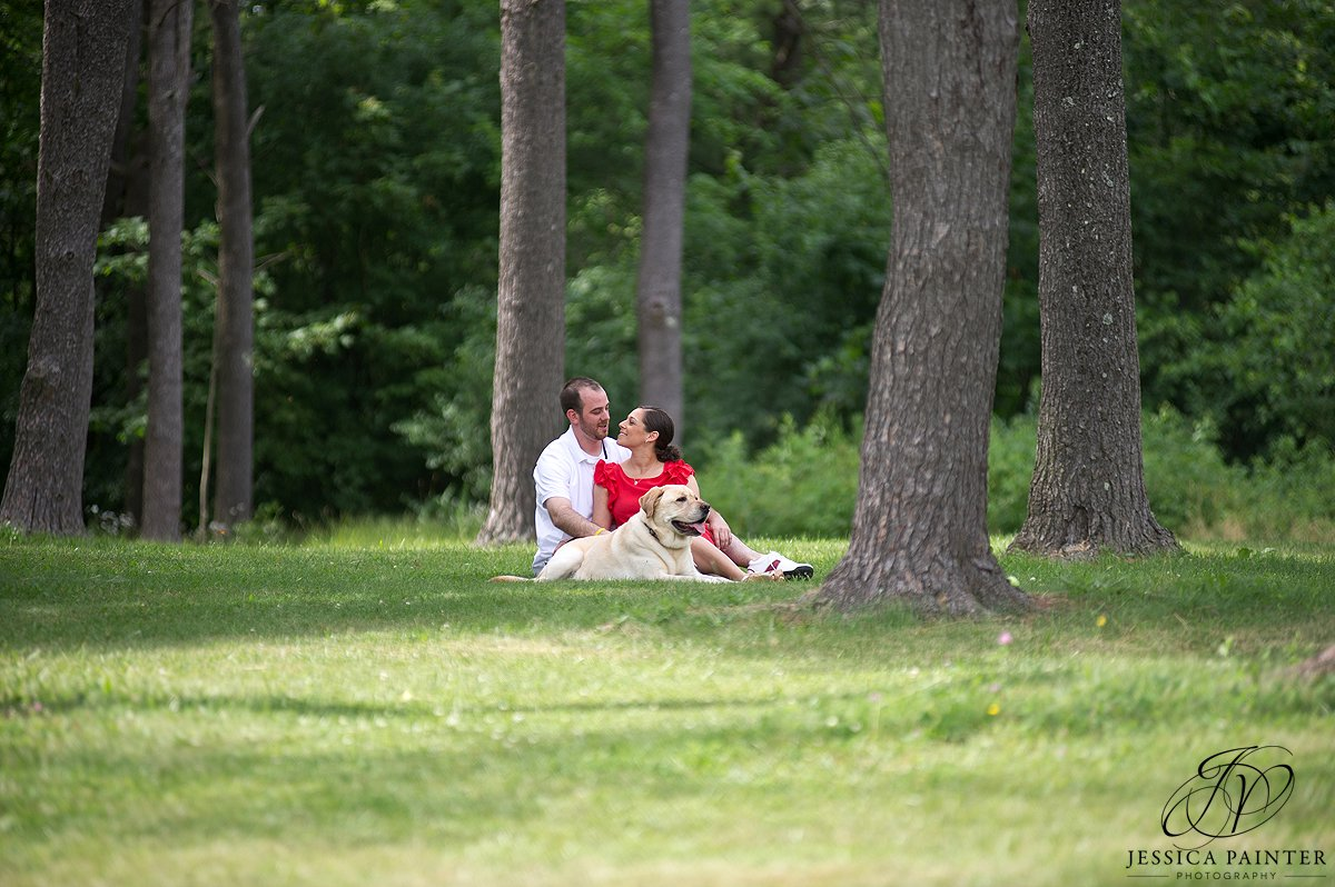 Albany engagement photographer, john boyd thacher state park, engagement photo, on location photo, location photography