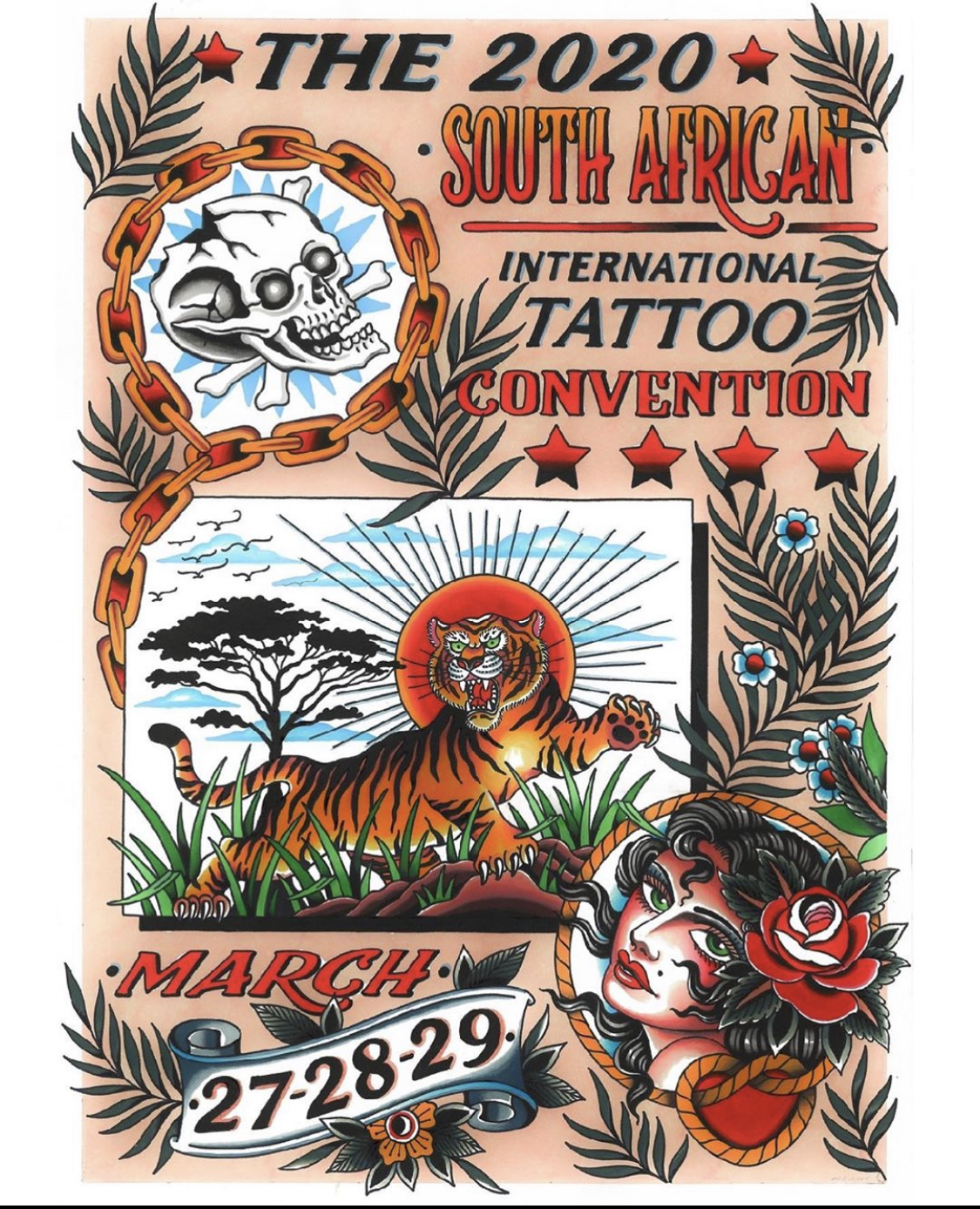 2020 South African Tattoo Convention by Matt Cannon