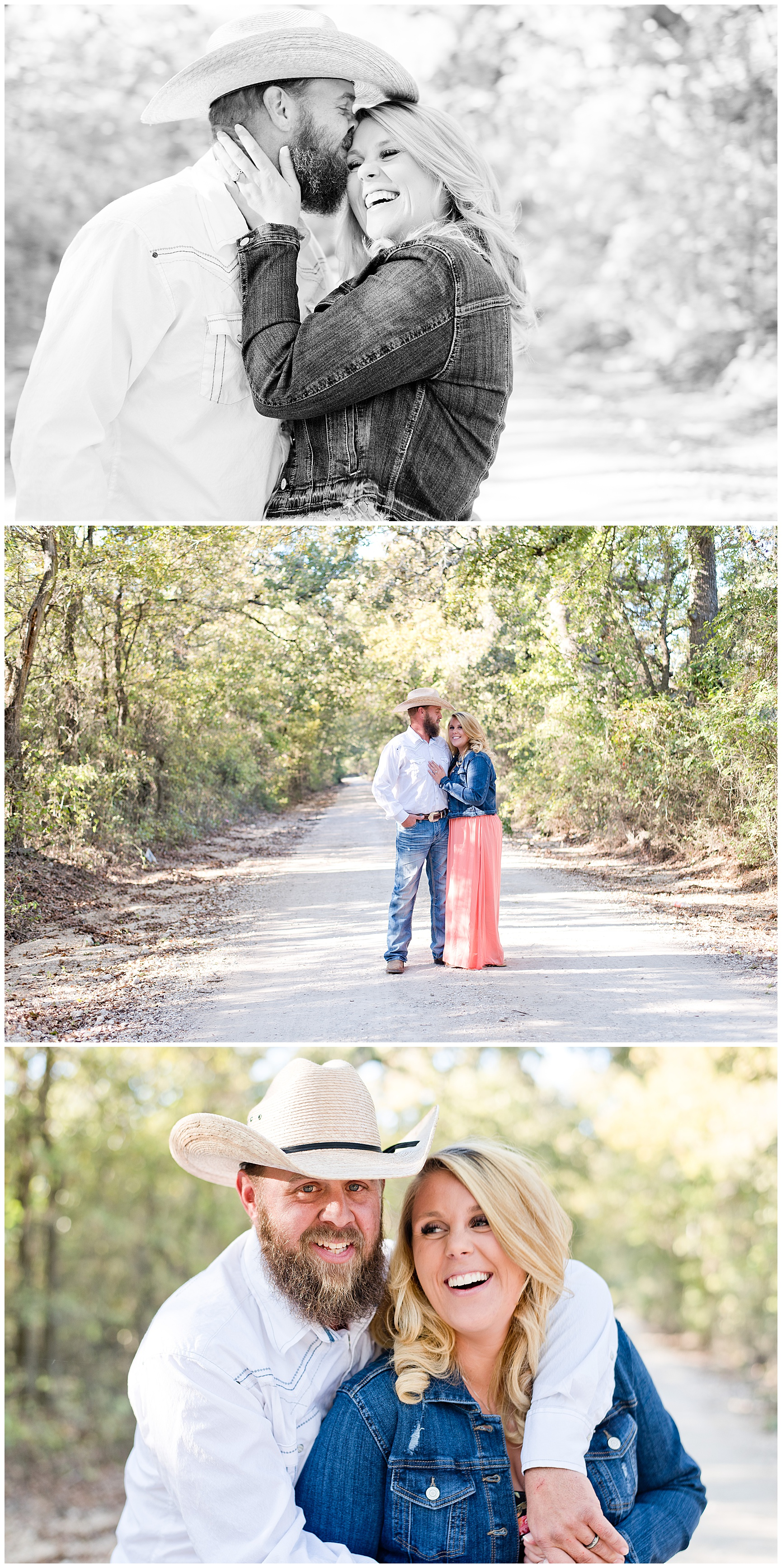 Fall Couples Session Texas