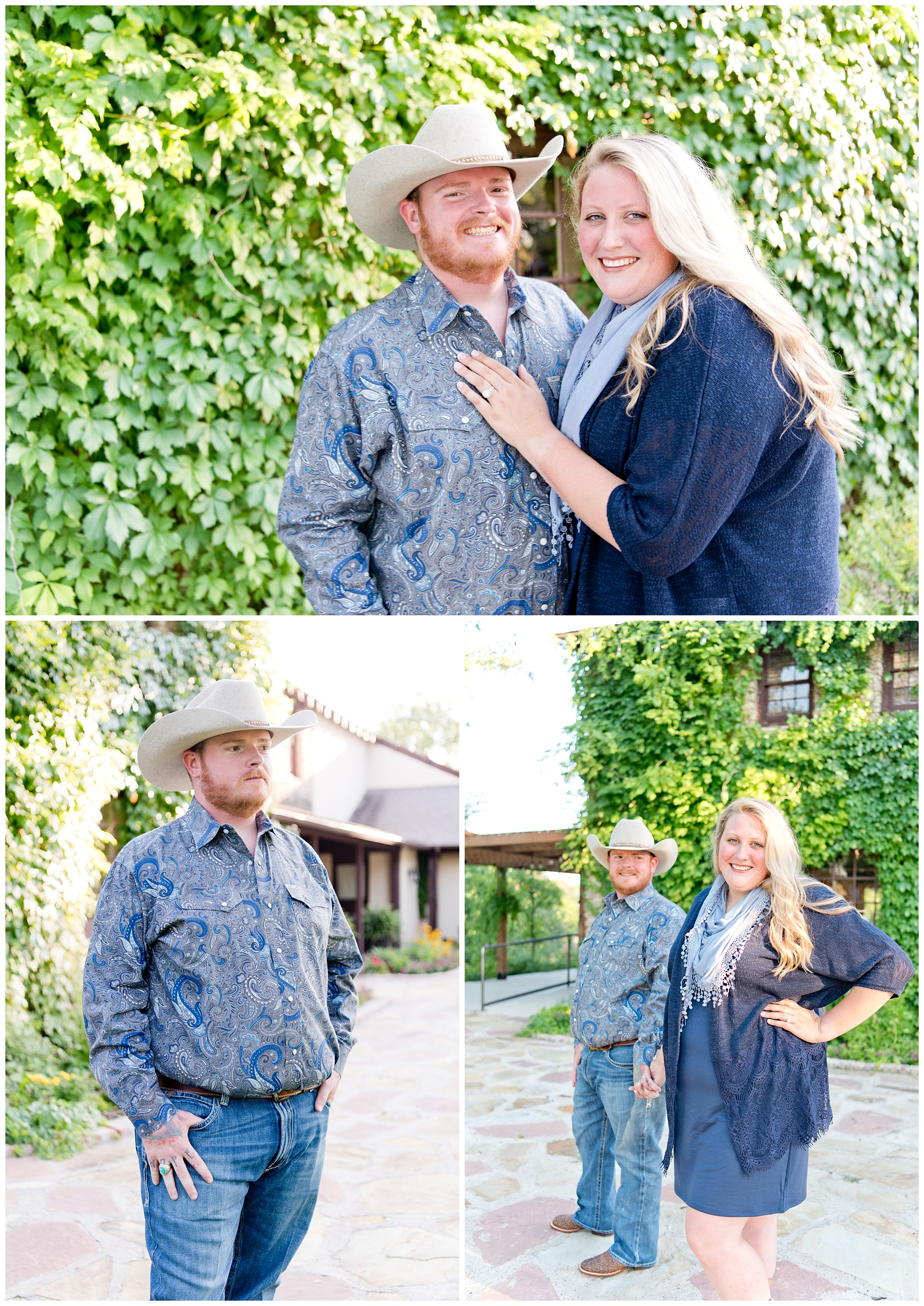 Texas Spring Engagement Session
