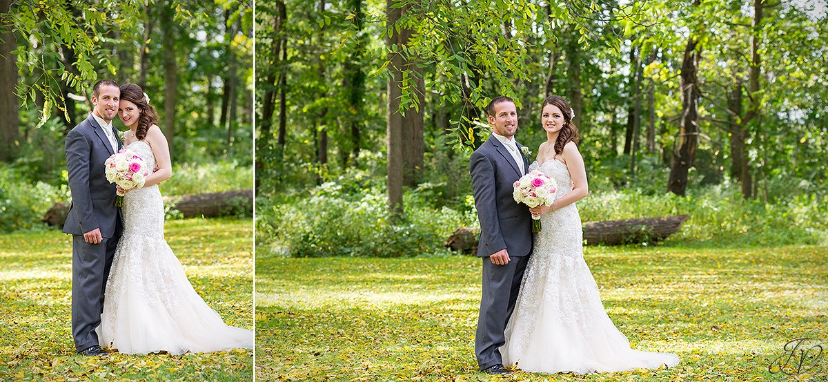 cute fall bride and groom photos
