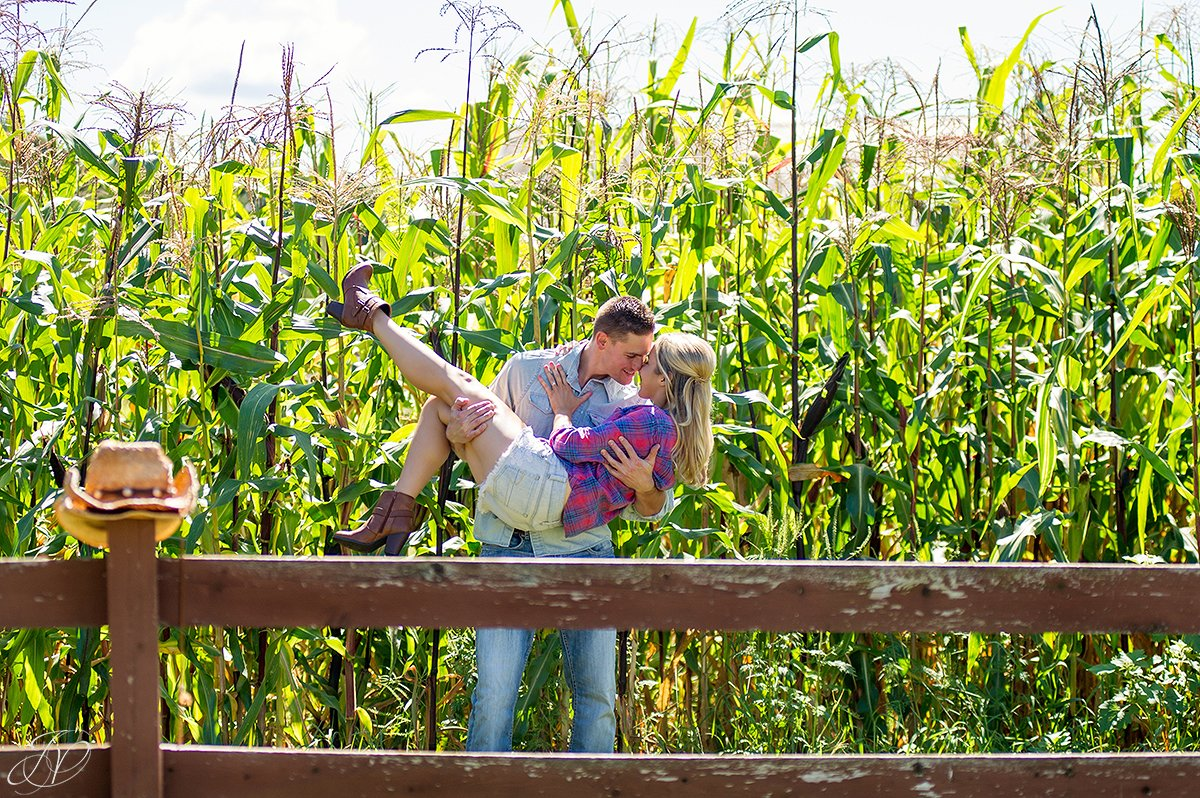 country engagement photo session