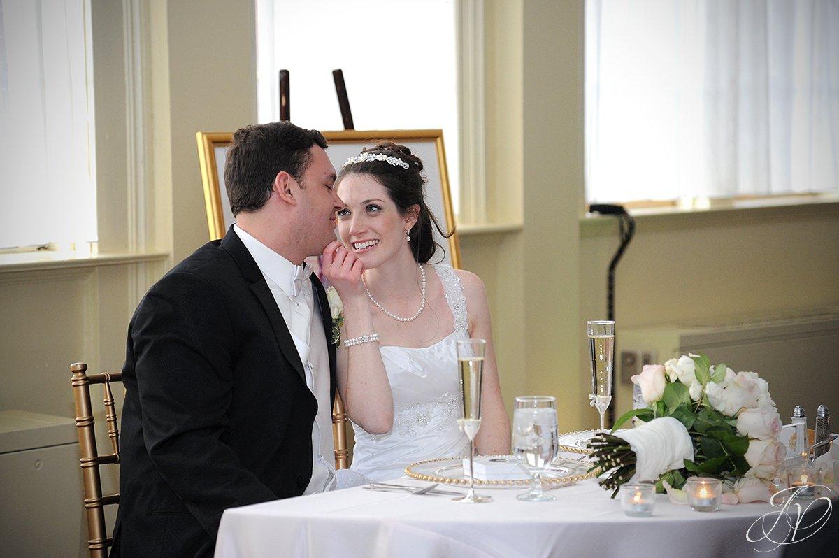 Saratoga Wedding Photographer, The Canfield Casino wedding, bride and groom candid photo