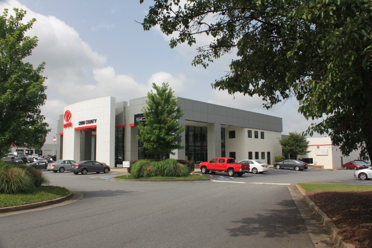 Cobb County Toyota   Showroom Exterior