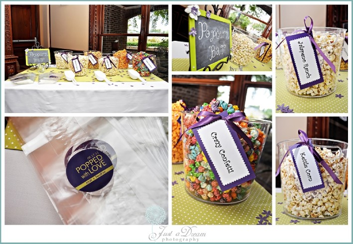Thrifty/Trendy Thursday: Popcorn Bar - Just a Dream Photography