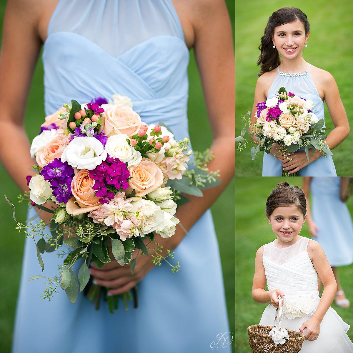 cute flower girls bridal party lake placid