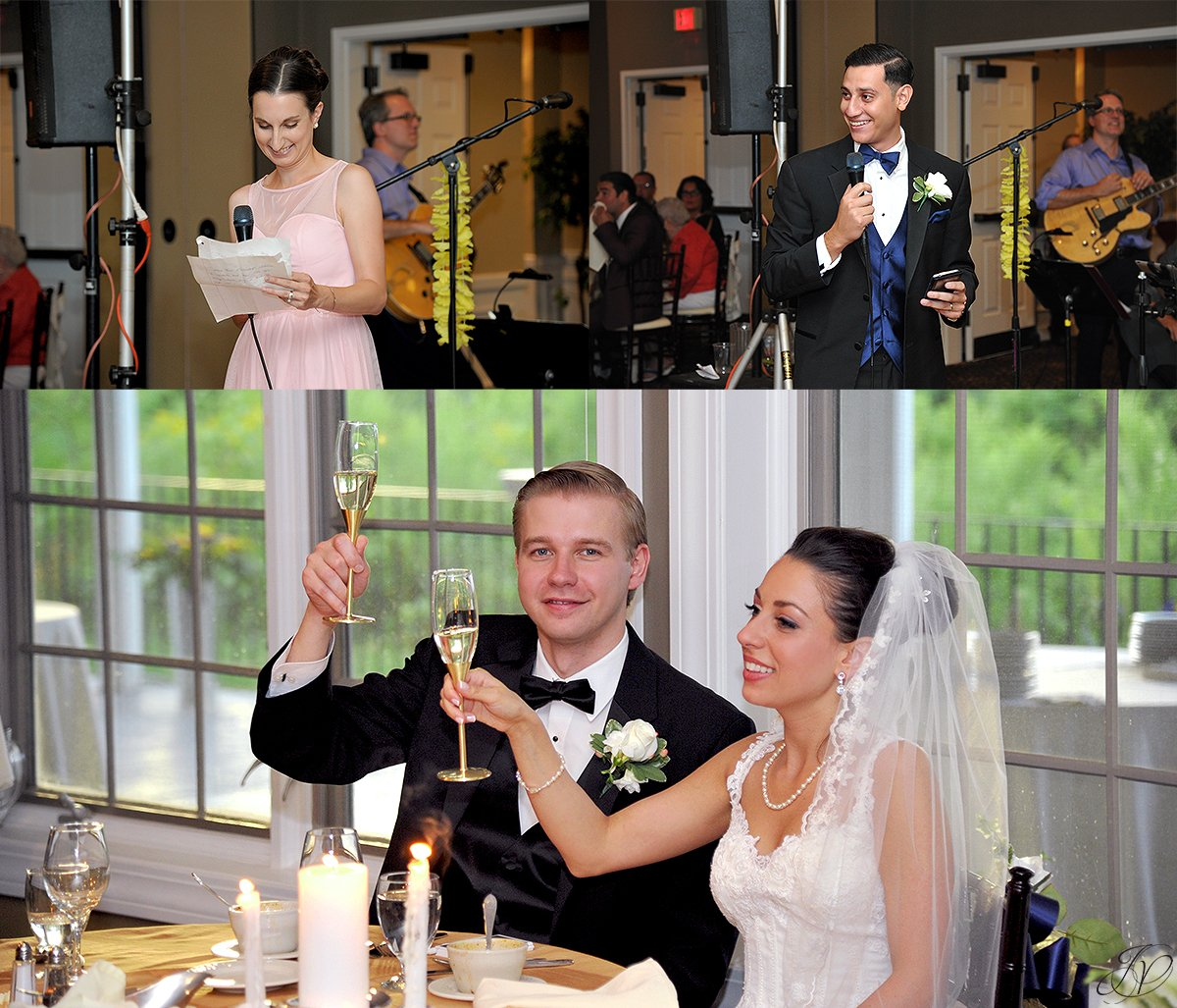 reception toasts