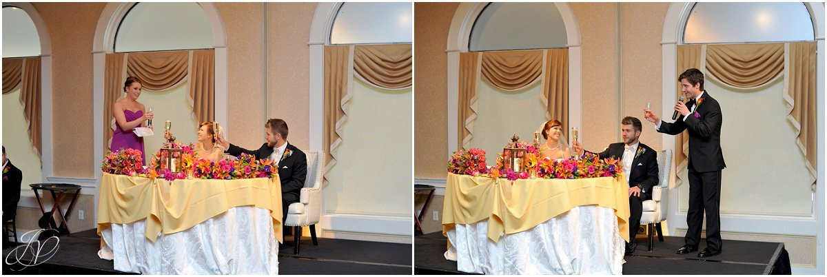 reception toasts bride and groom first dance bride and groom intro at reception details glen sanders mansion wedding