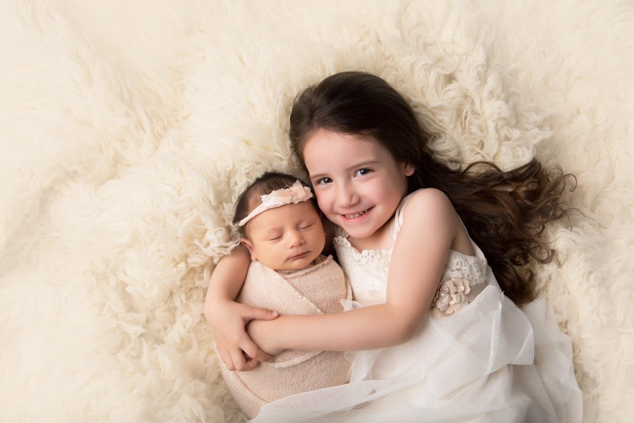Welcome baby e visalia newborn photographer