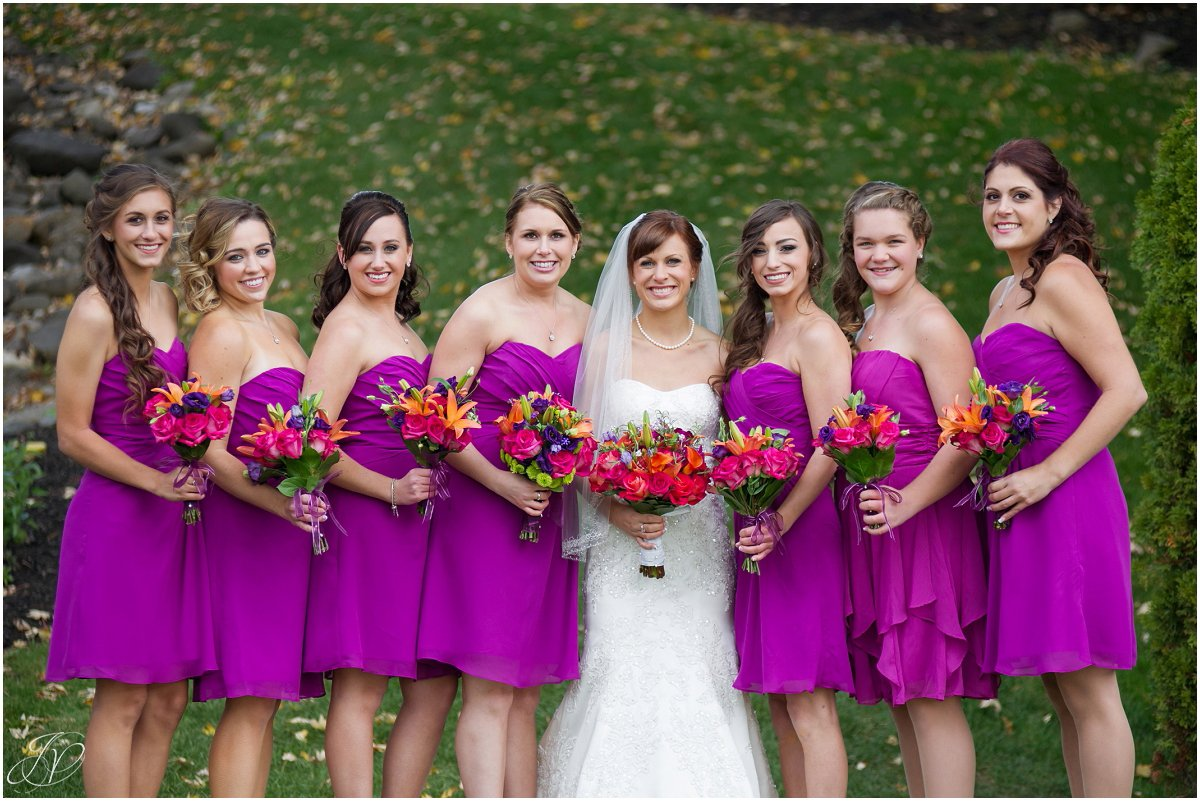 bride and bridesmaid wedding photos glen sanders mansion wedding