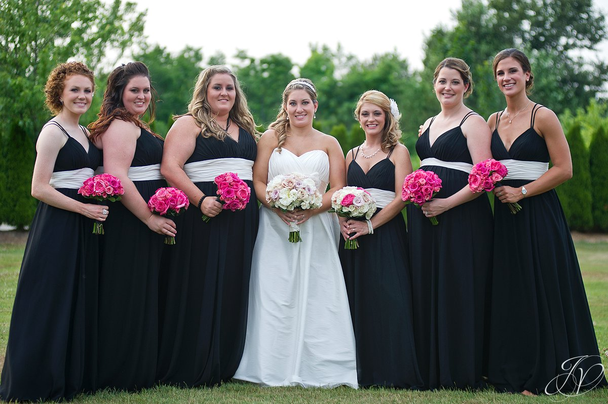 Saratoga Wedding Photographer, Mohawk River Country Club & Chateau, bridal photo, beautiful bridal party photo