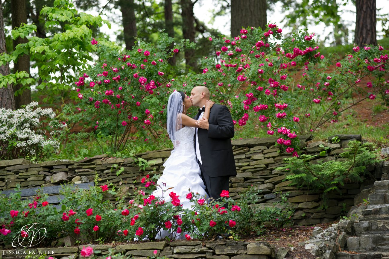 albany wedding, schenectady wedding, Schenectady rose garden, bride and groom, portrait photos