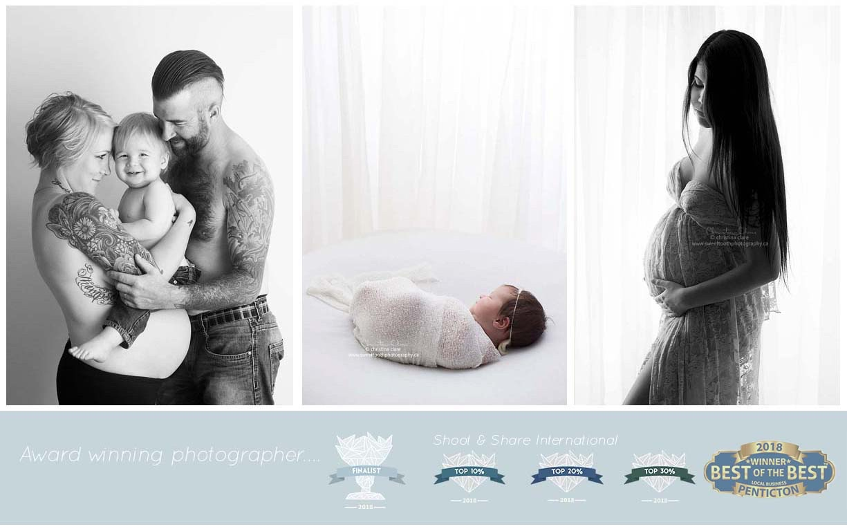 Sweet tooth photography penticton photographer newborn photographer maternity photographer