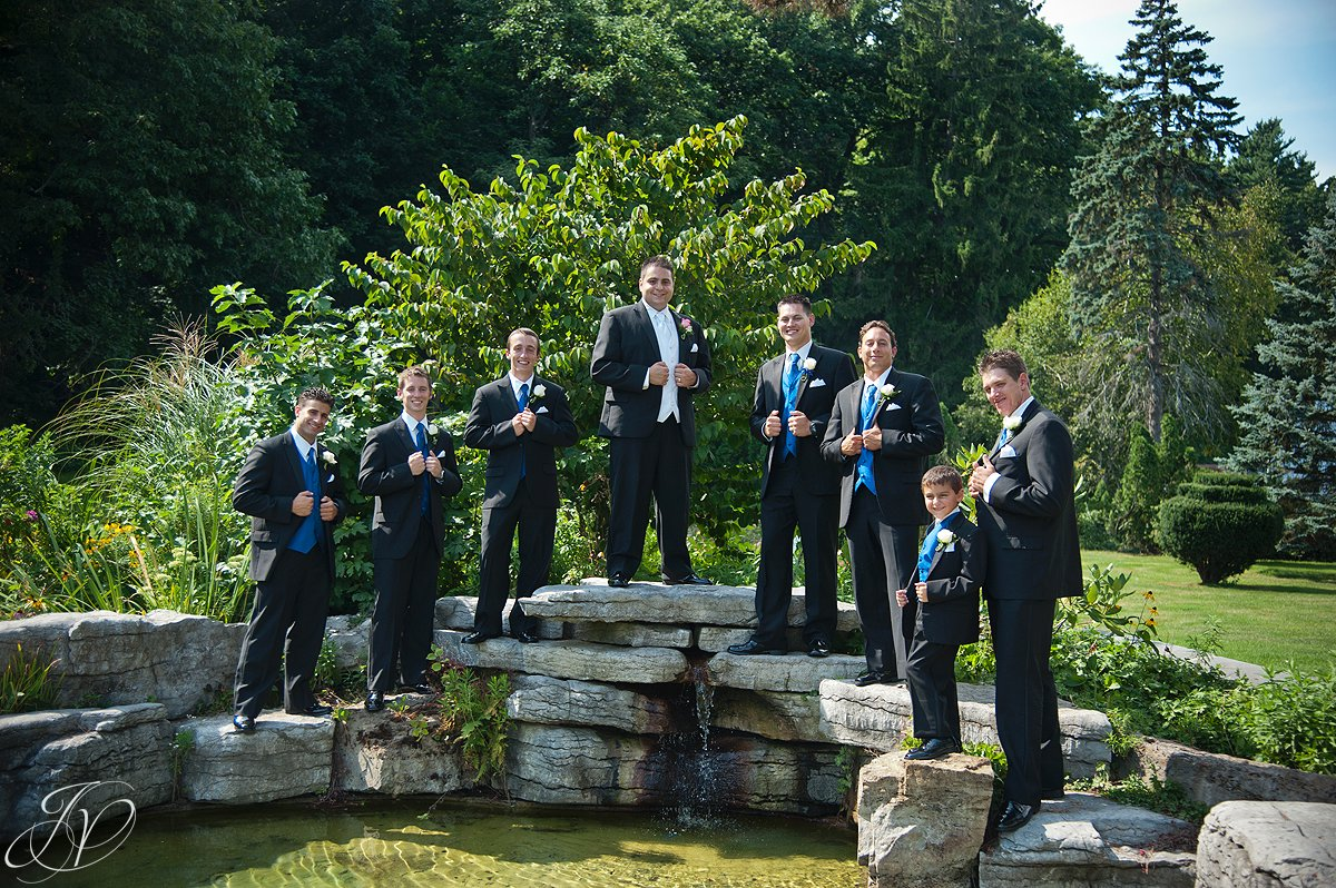 groomsman photo, schenectady rose garden, Schenectady Wedding Photographer, Waters Edge Lighthouse