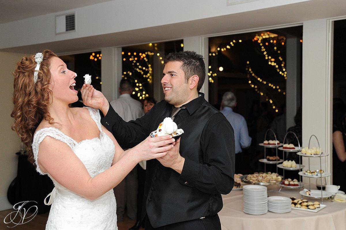 cake cutting photos, wedding cake photo, Crooked Lake House wedding, old daley inn, Albany Wedding Photographer, wedding reception photos