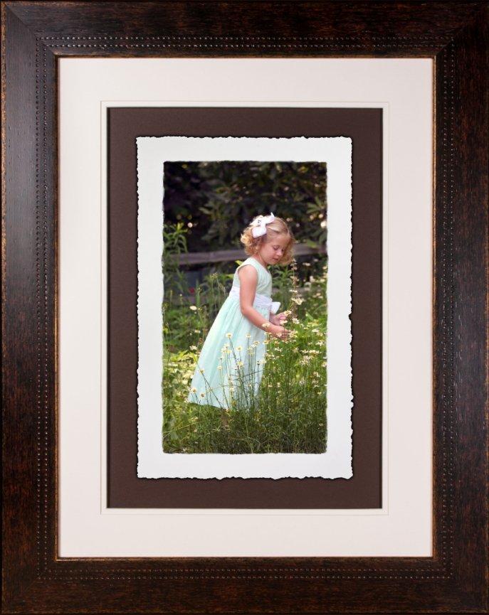 10x16 torn edge art print frame and print! - Angle Photography