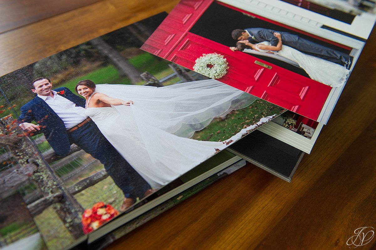 unique wedding albums, jessica painter photography