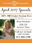 April 2017 Specials