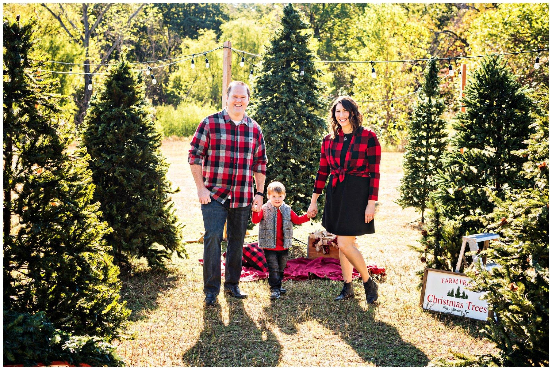 Tree Farm Family Photography Flower Mound Family Photographer