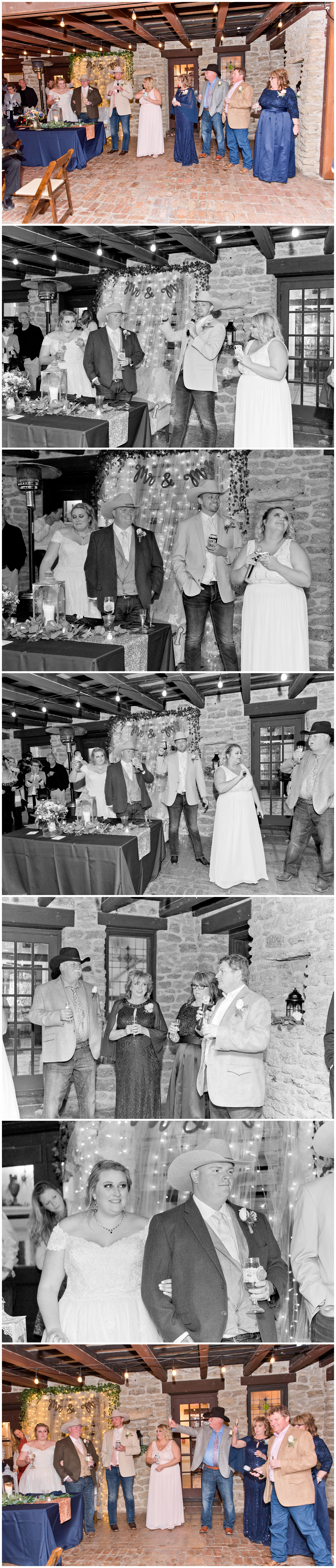 Outdoor Wedding Reception Fort Worth Texas