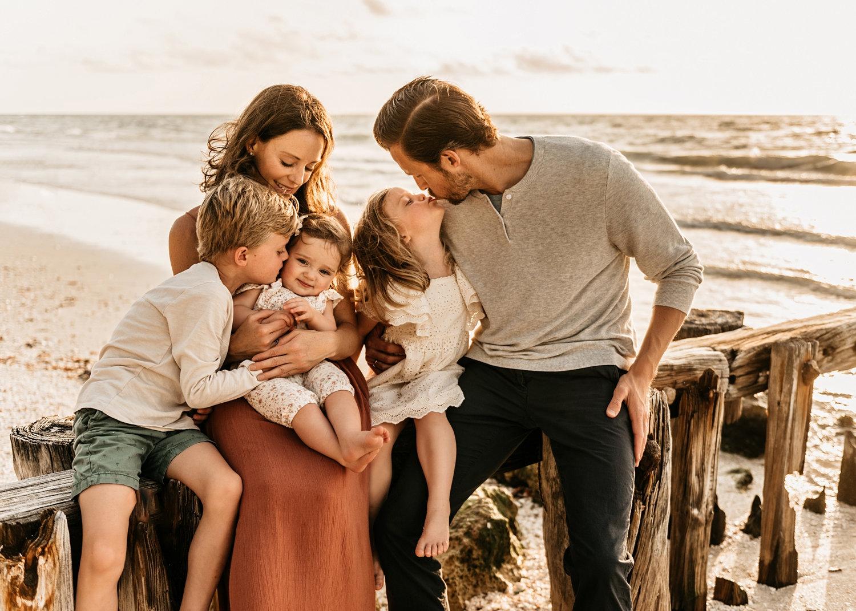beach session for a family, Naples, Florida, Naples Beach, Rya Duncklee