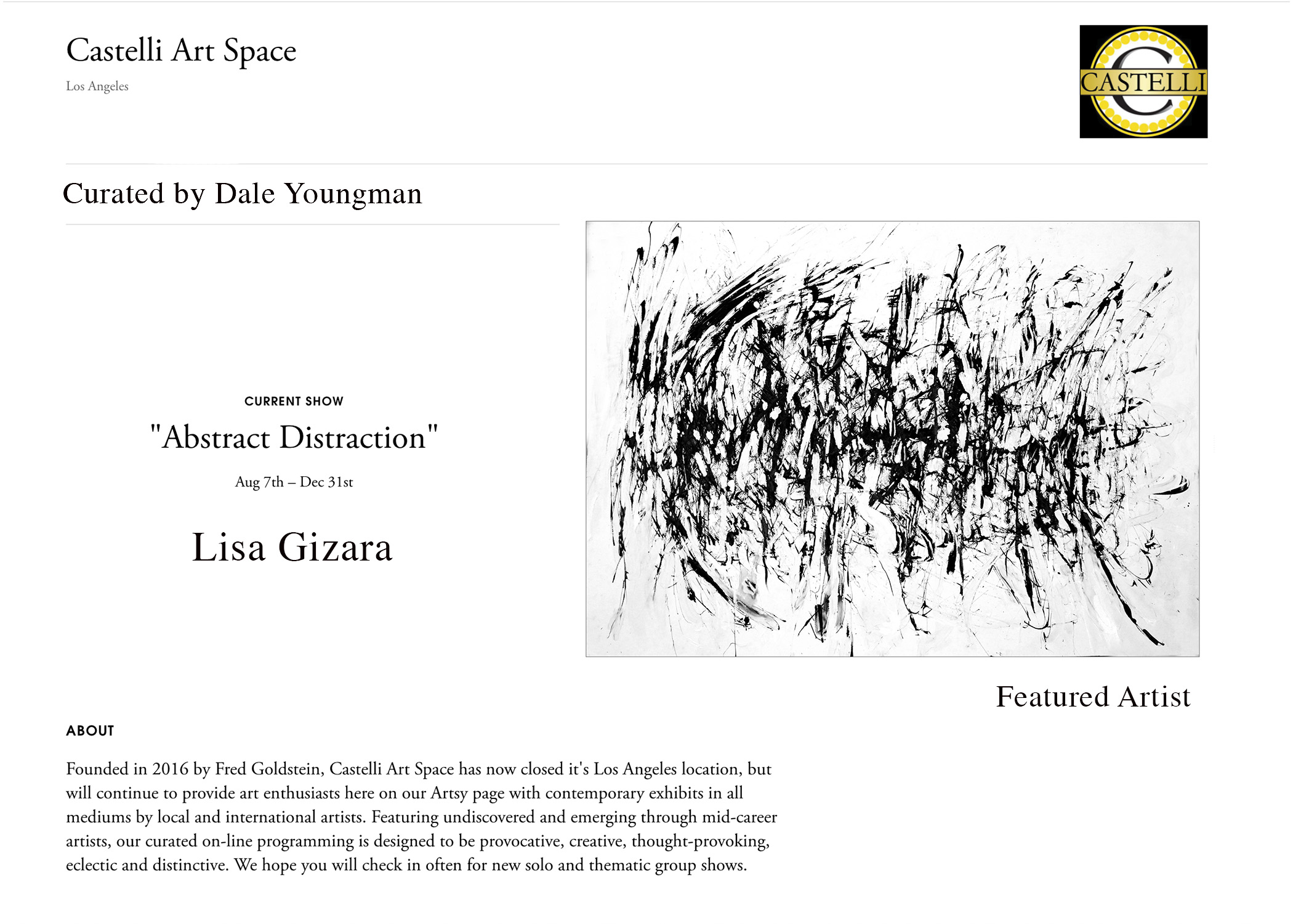 Gizara at The Castelli Art Space