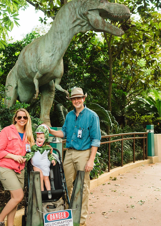 Jurassic Park costume, Jurassic Park Halloween costume, Jurassic Park family costume